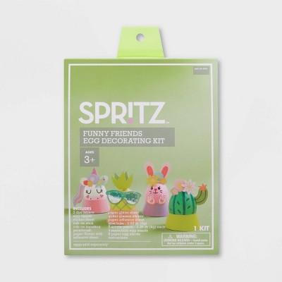 Funny Friends Easter Egg Decorating Kit - Spritz™