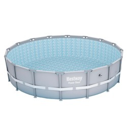 Bestway 16ft x 48in Power Steel Pro Round Frame Above Ground Swimming Pool