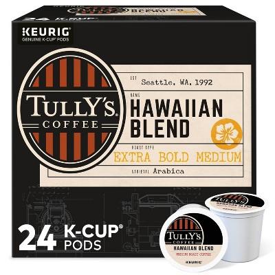 Tully's Coffee Hawaiian Blend Coffee Pods - Medium Roast - 24ct