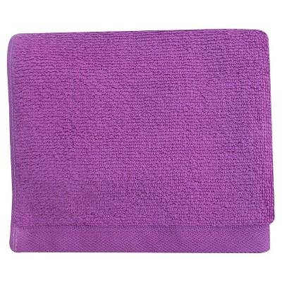 Fast Dry Washcloth Purple Elegance - Room Essentials™