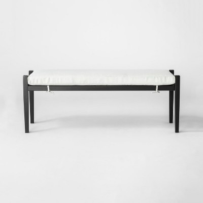 Fairmont Metal Patio Dining Bench - Threshold™