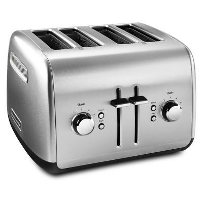 KitchenAid 4-Slice Toaster Brushed Stainless Steel - KMT4115SX