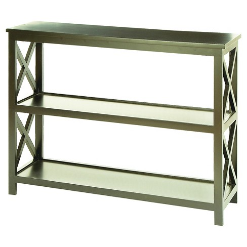 Grand Console Table Wood Gray - Benzara - image 1 of 1