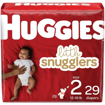 Huggies Little Snugglers Diapers Jumbo Pack - Size 2 (29ct)