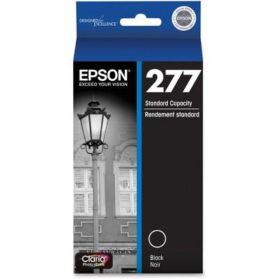 Epson Claria 277 Original Ink Cartridge - Inkjet - Standard Yield - Black - 1 Each
