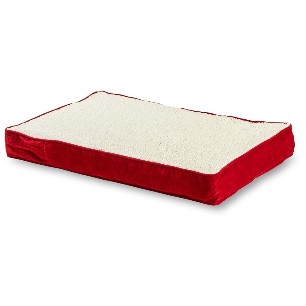 Kensington Garden Oscar Orthopedic Dog Bed Crimson L