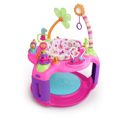 Bright Starts Pretty in Pink Bounce-A-Round Entertainer - Sweet Safari