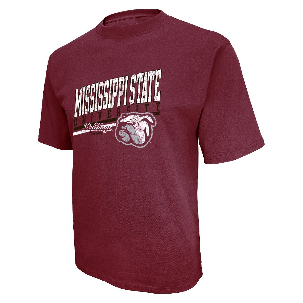 Mississippi State Bulldogs Mens Short Maroon (Red) L
