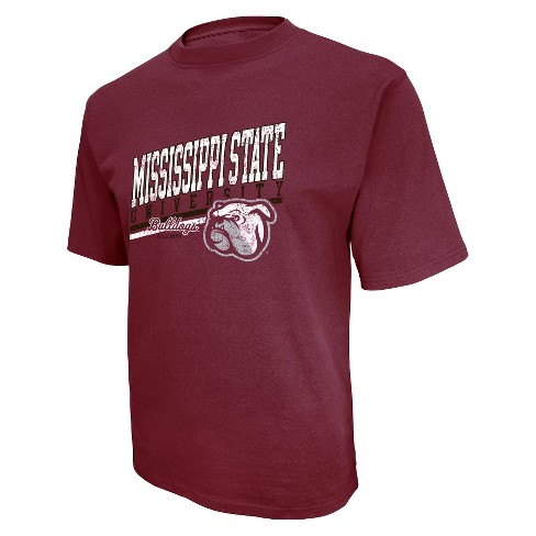 Men's Mississippi State Bulldogs T-Shirt - Maroon - image 1 of 1
