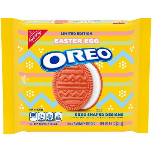 Oreo Easter Egg Shaped Sandwich Cookies - 8.5oz - image 1 of 1
