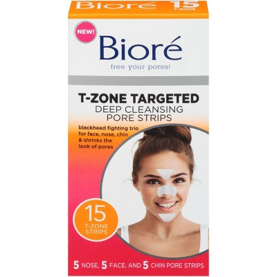 Biore Deep Cleaning Pore Strips - 15ct