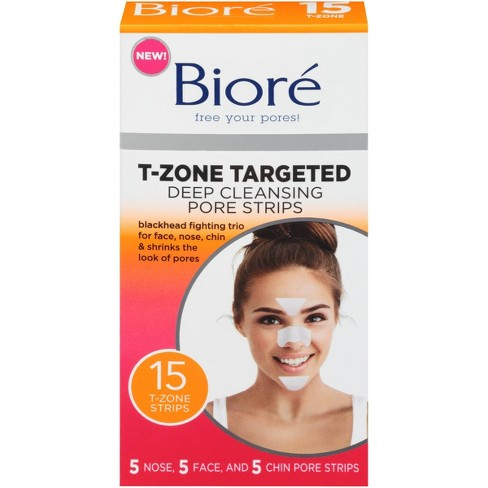 Biore Deep Cleaning Pore Strips - 15ct - image 1 of 3