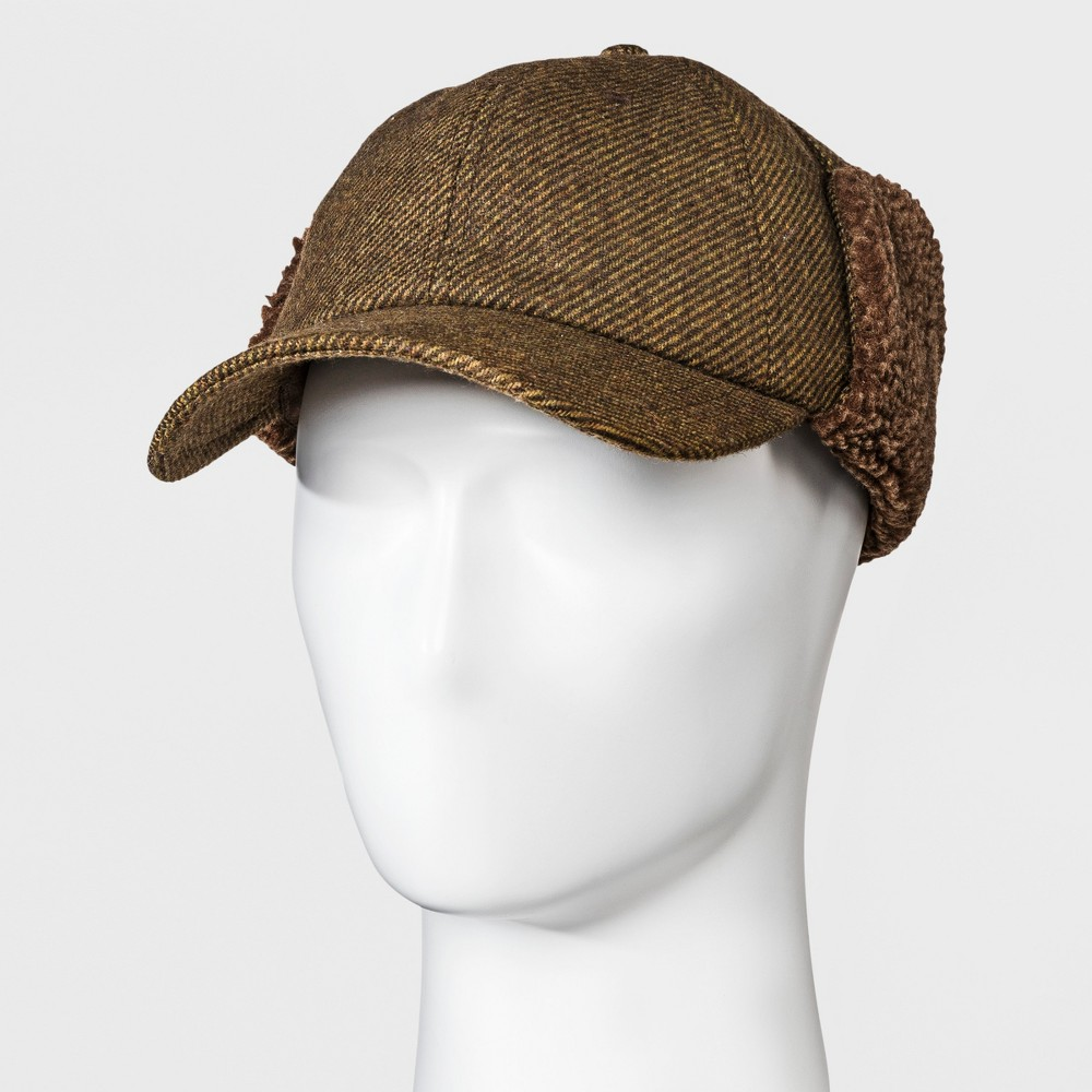 Tweed Ride Clothing, Fashion, Outfits Mens Tie Up Camper Tweed Baseball Hat - Goodfellow  Co Tan ML Brown $16.99 AT vintagedancer.com