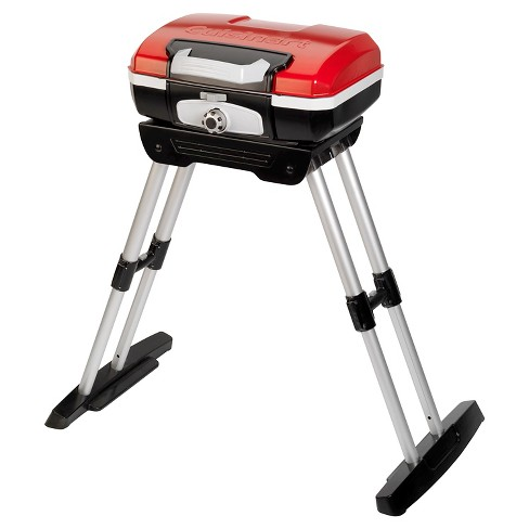 Cuisinart® Petite Gourmet Portable Grill With Stand - Red - image 1 of 6