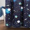 "72""x72"" Universe Shower Curtain Navy - Lush Dcor - image 3 of 4"