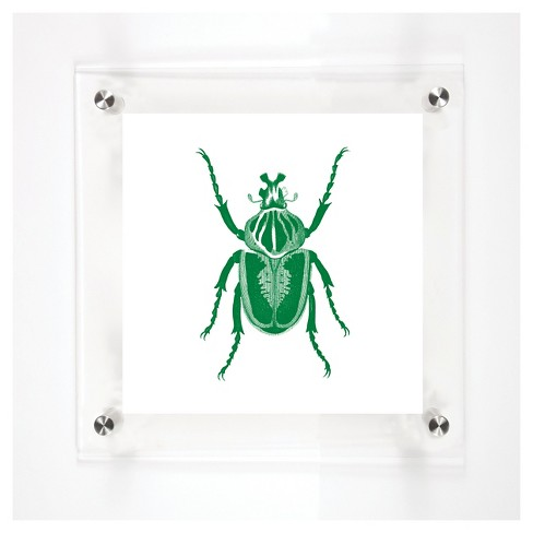 Mitchell Black - Beetles John Decorative Framed Wall Canvas - image 1 of 1