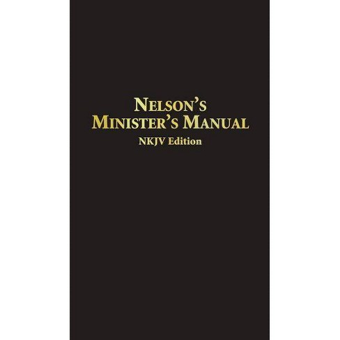 Nelson's Minister's Manual NKJV - by  Thomas Nelson (Leather_bound) - image 1 of 1