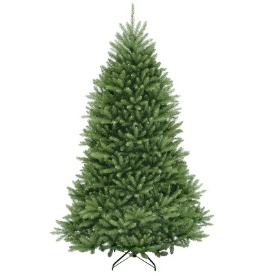 6.5ft National Christmas Tree Company Dunhill Fir Hinged Artificial Christmas Tree