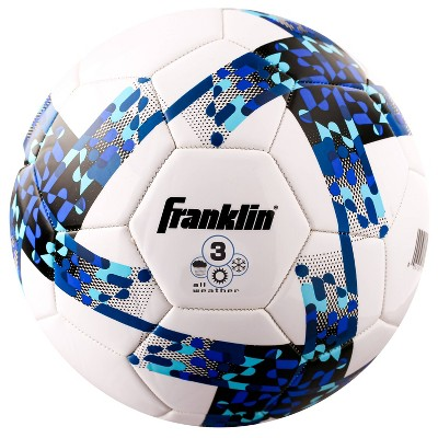 Franklin Sports All Weather Size 3 Soccer Ball - Blue