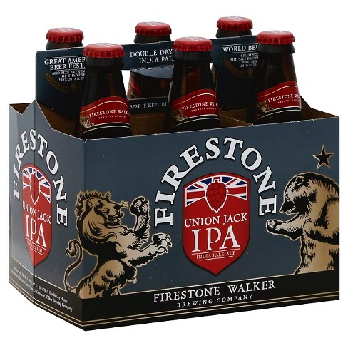 Firestone Union Jack IPA - 6pk/12 fl oz Bottles - image 1 of 1