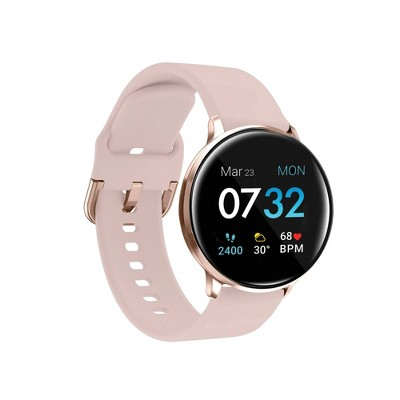 iTouch Sport Fitness Smartwatch - Rose Gold Case with Blush Strap
