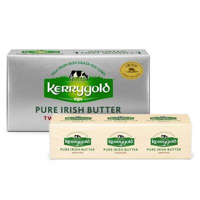 Kerrygold Grass-Fed Pure Irish Unsalted Butter Sticks - 8oz/2ct