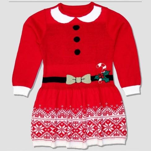 Well Worn Toddler Girls Sweater Dress