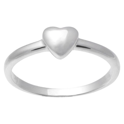 Tressa Collection Sterling Silver Heart Ring - image 1 of 3