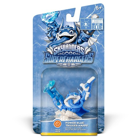 Skylanders SuperChargers Power Blue Trigger Happy - image 1 of 4