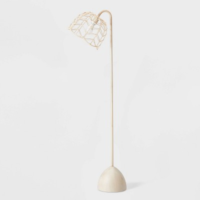 Rattan Floor Lamp (Includes LED Light Bulb)Natural - Pillowfort™