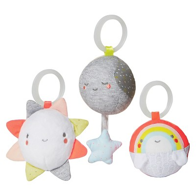 Skip Hop® Silver Lining Cloud Balls Baby Toy - 3pc