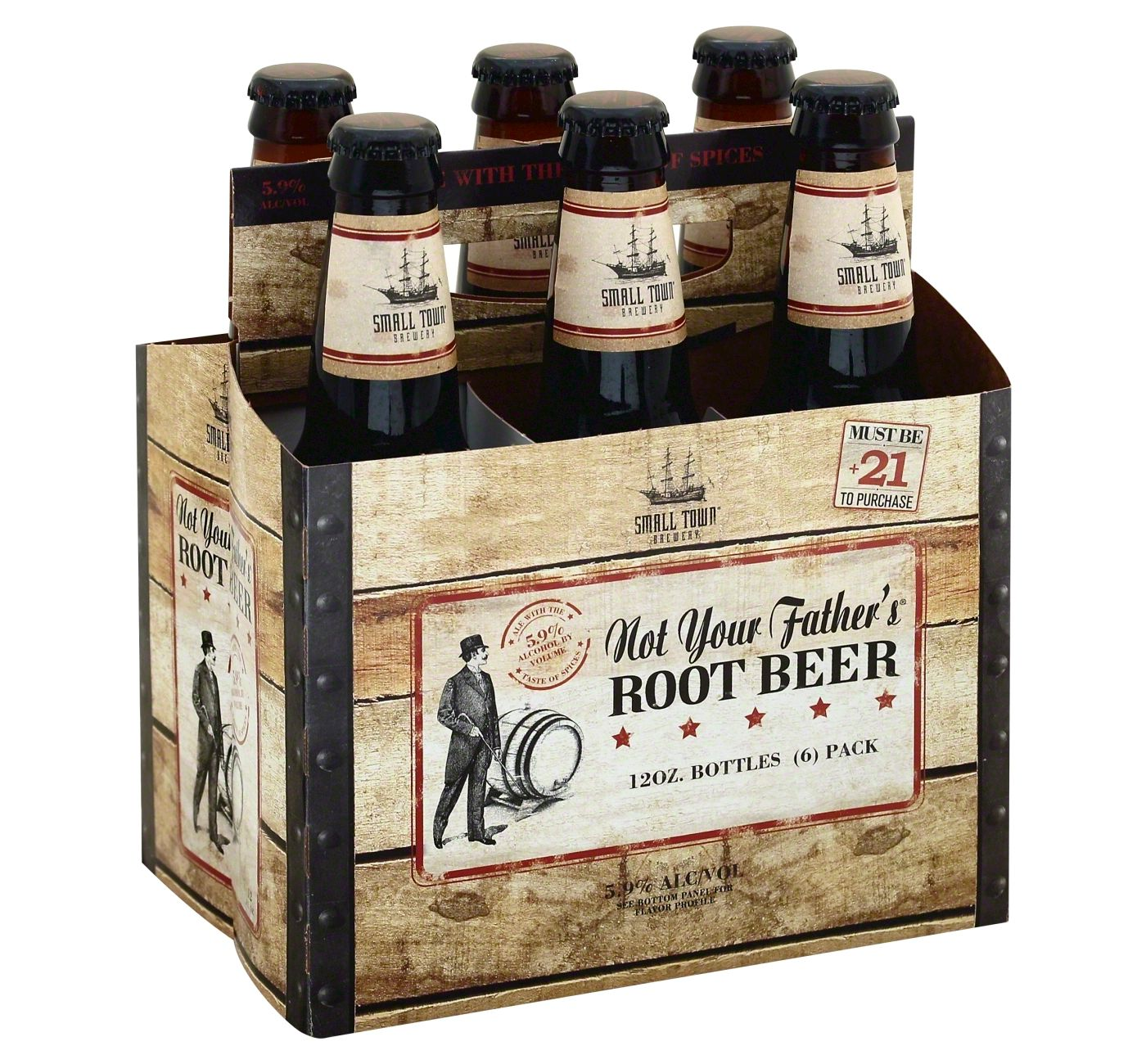 Not Your Fathers Root Beer - 6pk  12oz Bottles - image 1 of 1