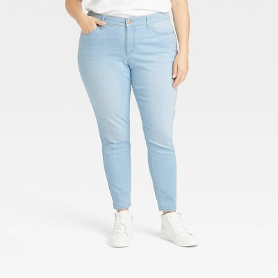 Women's Mid-Rise Skinny Jeans - Universal Thread™