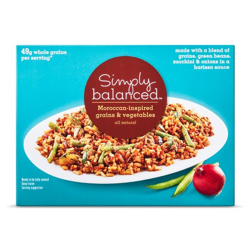 Moroccan Grains and Vegetables - 9oz - Simply Balanced™ - image 1 of 1