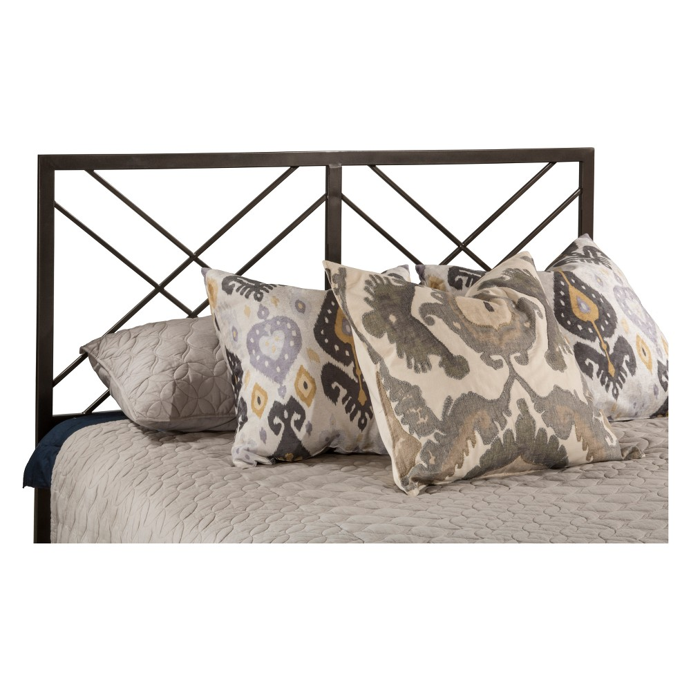 Westlake Metal Headboard Twin Magnesium Pewter Metal Headboard Frame Included - Hillsdale Furniture, Silver
