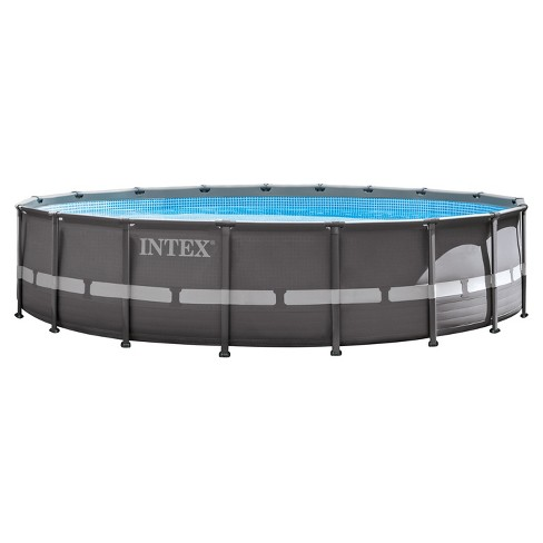 Intex 18 X 48 Ultra Frame Above Ground Pool With Filter Pump Target