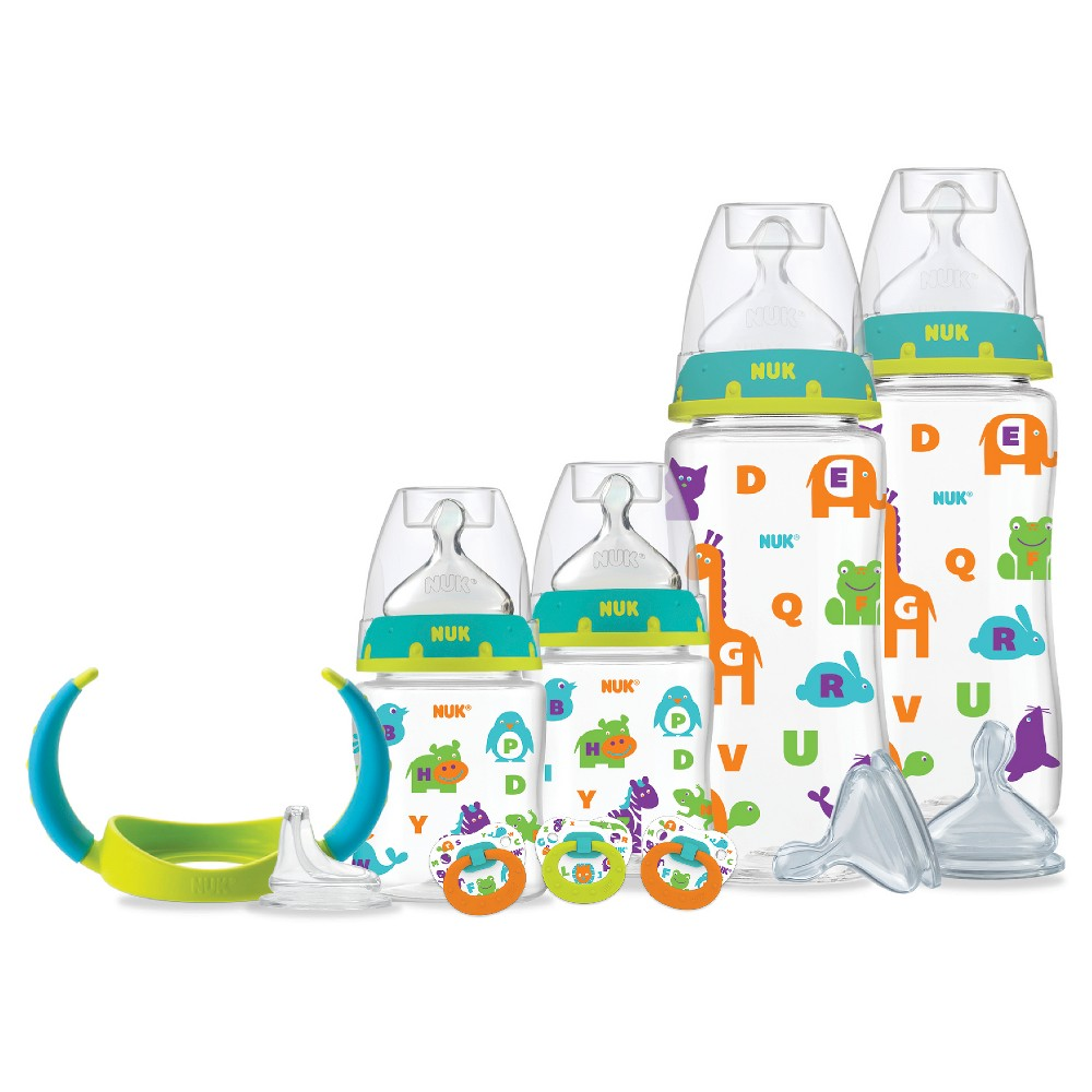 Nuk Perfect Fit Bottles Gift Set, Clear