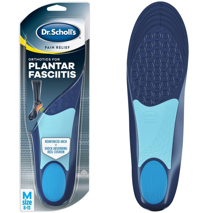 Dr. Scholl's Pain Relief For Plantar Fasciitis Insoles for Men - Size (8-13) - image 1 of 3