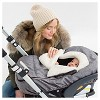 Skip Hop STROLL & GO Car Seat Cover - Heather Gray - image 2 of 4