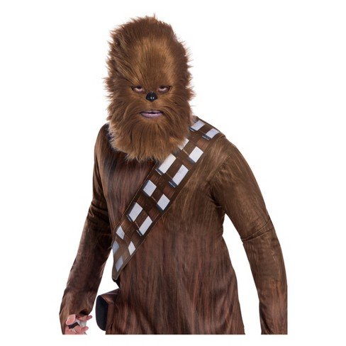 Star Wars Adult's Classic Chewbacca Halloween Costume Mask With Faux Fur - image 1 of 1