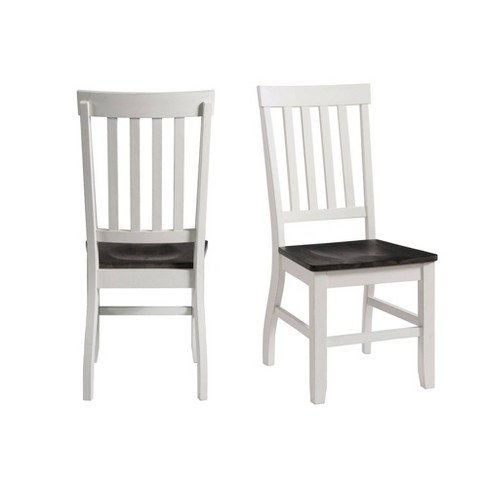 2pc Jamison Two Tone Side Chair Set White - Picket House Furnishings - image 1 of 4