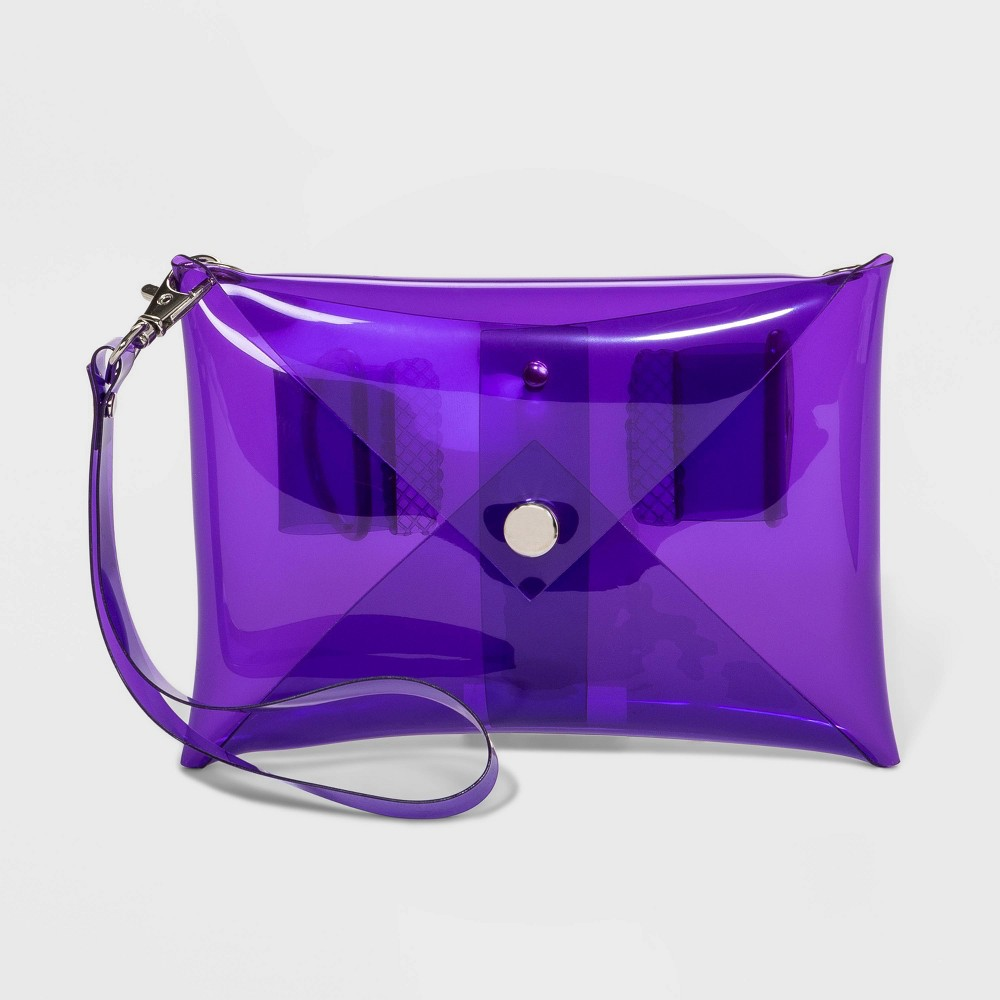 Image of Color Tribe Women's Convertible Stadium Friendly Fanny Pack - Purple, Adult Unisex, Size: Small