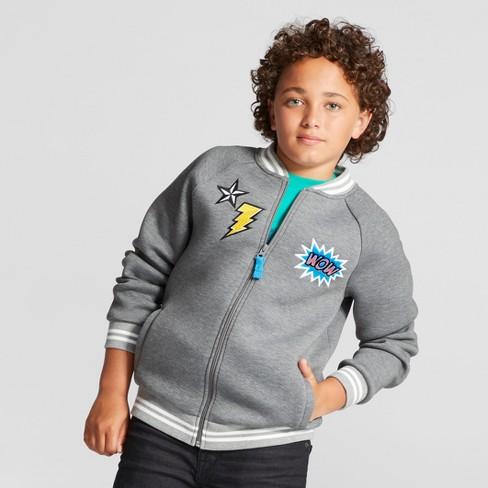 0c53d68ad91e Boys' Scuba Jacket - Cat & Jack™ Gray : Target