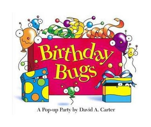 Birthday Bugs (Hardcover) (David A. Carter) - image 1 of 1