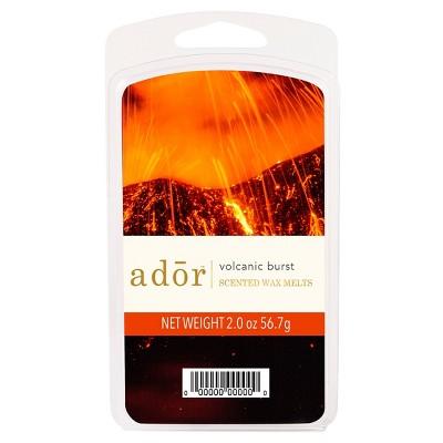 2oz Scented Wax Melts Volcanic Burst - ADOR