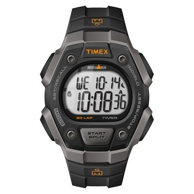 Men's Timex Ironman Classic 30 Lap Digital Watch - Black T5K821JT