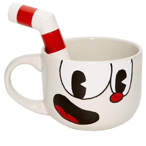 Just Funky Cuphead 20oz Ceramic Molded Mug, Cuphead - image 1 of 4