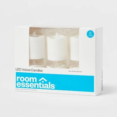 6pk Votives LED Candle - Room Essentials™