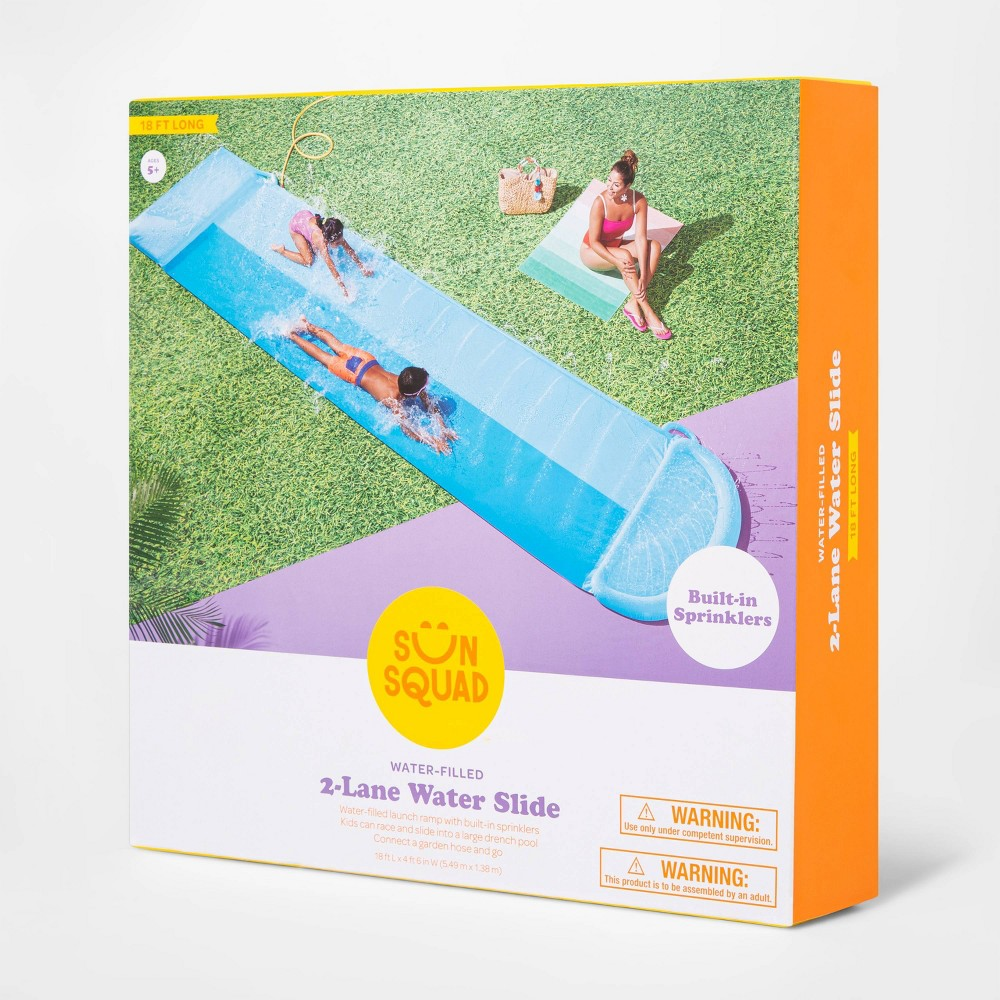 Double Water Slide Sun Squad 8482