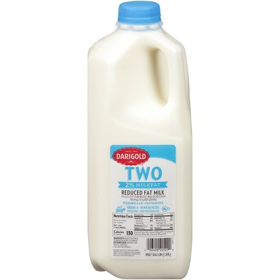 Darigold 2% Milk - 0.5gal